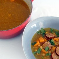 Chickpea And Chorizo Soup | Hummus To Halva
