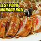 Cheesy Pork Hamonado Roll