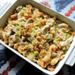 Amish Chicken and Stuffing Casserole