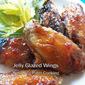 Jelly Glazed Wings for #BakingBloggers