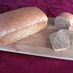 Half & Half Whole Wheat Bread (Machine or Hand-made)