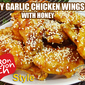 Soy Garlic Chicken Wing (BonChon Style)