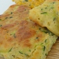 Oven Baked Courgette Fritters