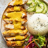 Chicken Katsu Curry (Air Fryer Recipe)