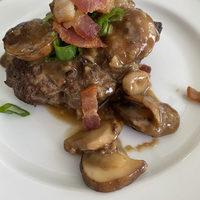 Salisbury Steak with Mushrooms and Madeira