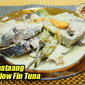 Ginataang Yellow Fin Tuna