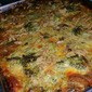 Broccoli/Foraged Oyster Mushroom Casserole: Easter Pleaser
