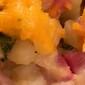 Cheesy Ham, Potato and Broccoli Casserole