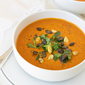 Sheet Pan Roasted Red Pepper Soup