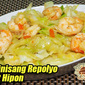 Ginisang Repolyo at Hipon