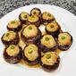 Air-fried Ground Chicken with Portobello Mushrooms