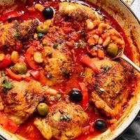 Spanish Chicken in Bravas Sauce