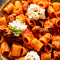 Spicy Sausage Pasta with Ricotta