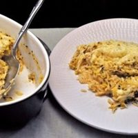Zucchini Rice Gratin; a succulent memory