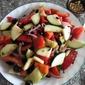 Fresh Garden Salad with Balsamic Marinade