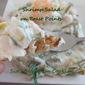 Shrimp Salat on Toast Points