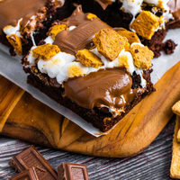 Super Simple S'mores Brownies