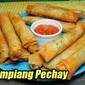 Fried Lumpiang Pechay