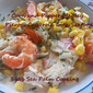 Corn and Pepper Medley Pierogi Casserole (with Seafood) for Baking Bloggers