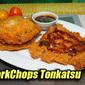 Pork Chops Tonkatsu